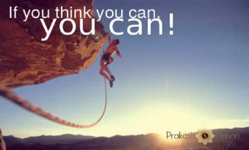 If you think you can…..you can!