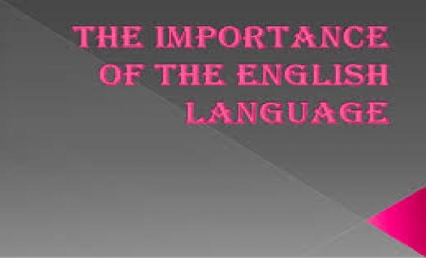 Importance of the English Language