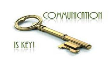 Communication is a key