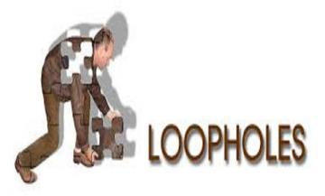 Loopholes in higher education