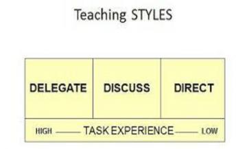 Three Teaching Styles